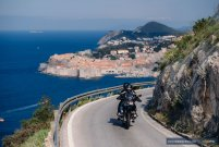 Leaving Dubrovnik - MotoTrip