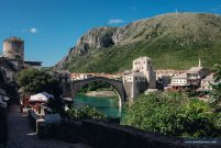 Mostar bridge - MotoTrip