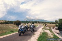 Motorcycle riding in Croatia