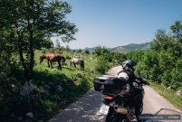 Motorcycle riding in the Balkans