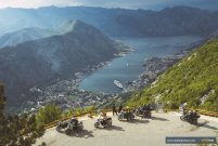 MotoTrip- beautiful Boka Bay in Montenegro