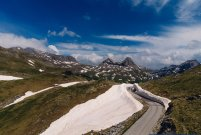 No Borders MotoTrip-Durmitor mountain in snow