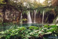Plitvice Lakes- must see while on the tour