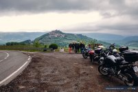 View in Istria, motorcycle tour Balkans